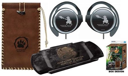 PSP Accessories - Monster Hunter Portable 2nd G Accessories Set