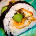 Unagi Asparagus Roll