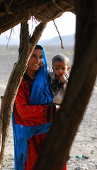 A village woman with her son by Nasha Ila, on Flickr