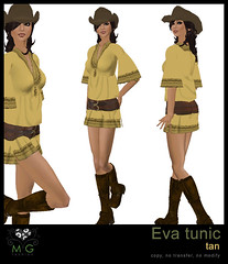 [MG fashion] Eva tunic (tan)