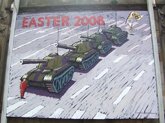 Saint Johns Church Edinburgh Easter Sign 2008