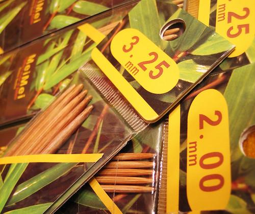 Bamboo Needles
