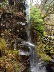 Waterfall beside the Miners bridge over the Afon Llugwy (eucharisto deo) Tags: wales river waterfall falls snowdonia afon betsycoed llugwy
