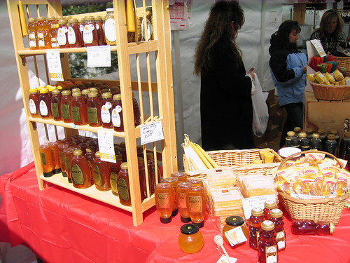 maple weekend - honey section