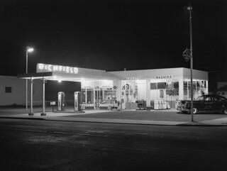 Richfield Nocturne -- Junction City, OR 1949