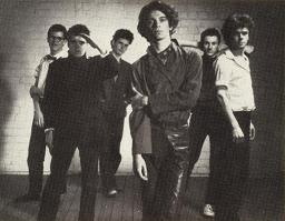 INXS band photo from inside the liner notes