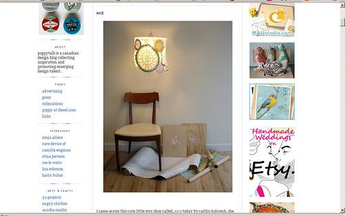 Light Shades Featured on PoppyTalk