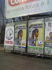 Manifesto elettorale della Lega Nord