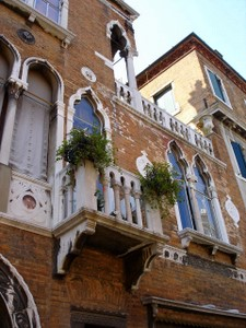 Venice, the buildings and architecture