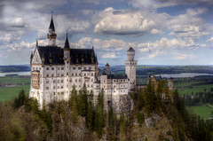 My Birthday Castle! (Sarah Ann Wright) Tags: alps castle fairytale germany munich bavaria europe alpine fantasy fir munchen neuschwanstein schloss hdr schlossneuschwanstein firtrees bavarianalps neuschwansteincastle fairytalecastle mywinners fantasycastle frhwofavs