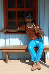 Rigatoni Western (Gasdisaster) Tags: park boy cinema berlin film movie cow cowboy western potsdam babelsberg morricone