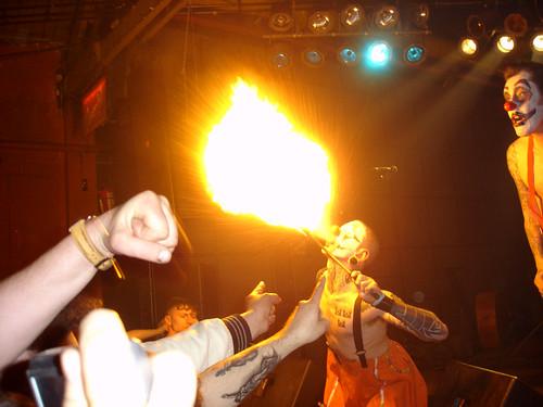 Fire! / Klingonz Live at Roks Club (St. Petersburg)