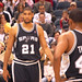 Tim Duncan of the San Antonio Spurs