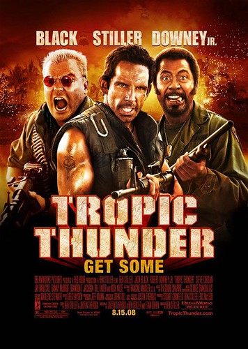 Poster Tropic Thunder Ben Stiller Jack Black Robert Downey Jr