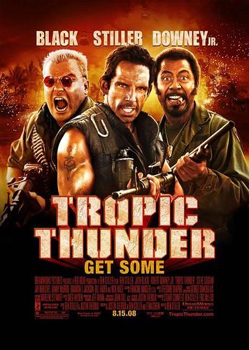 Cuatro pósters y un delirante trailer de 'Tropic Thunder'