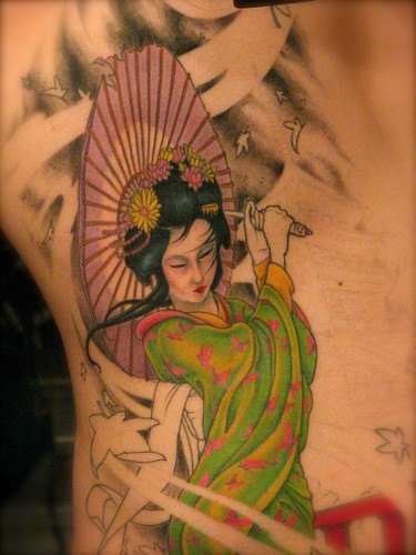 Tattoo Session #5 - Geisha