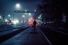 disposal (ewitsoe) Tags: nikon d80 35mm street city mna walking morning night lights fog foggy dawn early traffic pedestrian industrial waste