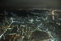 IMG_9870 (Ethene Lin) Tags: 台北101 隨意鳥地方 台北市 夜景 鳥瞰 信義區 大樓