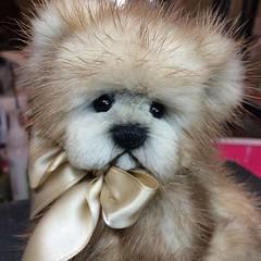 Mink Fur Teddy Bear (kimbearlyoriginal) Tags: mink fur teddy bear orignial kimbearlys ooak