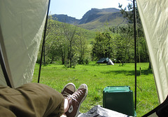 Good morning! (Simon Collison) Tags: camping nationalpark lakedistrict tent cumbria scafell nationaltrust campsite wasdale wasdalehead