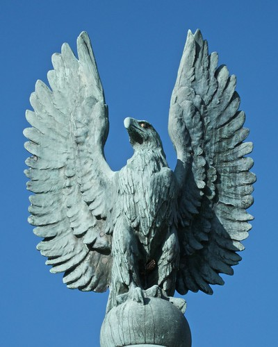 Westford War Memorial Eagle