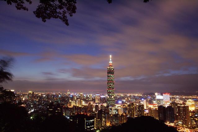 台北101 象山 大景槓龜