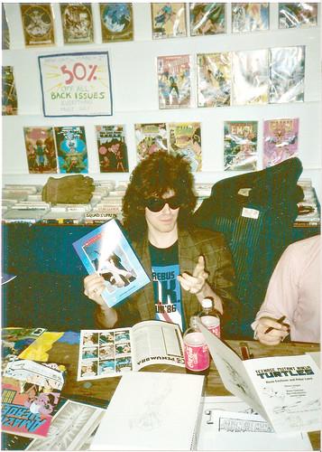 ROCKin' RYAN BROWN @  store signing '87 (( 1987 ))