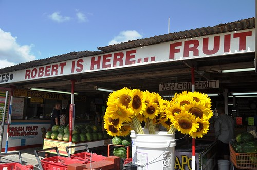 Robert Is Here Fruit Stand, Florida City, Fla.