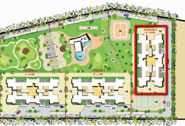 Layout Plan of Pride Platinum near Pancard Club Baner Pune 411 045