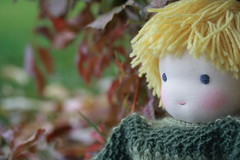 just happy it's autumn (UncommonGrace) Tags: wool sweater doll handmade waldorfdoll steinerdoll feltcorduroy