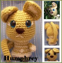Humphrey Bear Poofs  Amigurumi Crochet Pattern from Suncatcher Craft Eyes