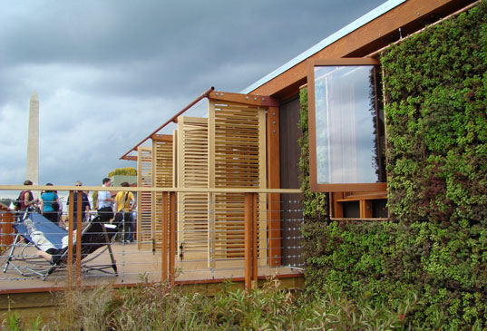 Maryland Solar House, Washington DC, University of Maryland, Solar Decathlon home, solar architecture, Maryland Solar Decathlon, solar design competition, prefab housing, Solar Decathlon 2007