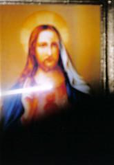 Slika Jezusa in pojav lui ob grleni akri (ECS.Anton) Tags: love heart miracle faith yinyang mystic lightanddark jezus knownandunknown weareoneinone humanbeinglovek19