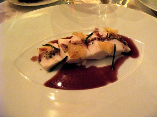 2nd course - Olive Oil Poached Escolar