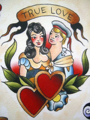 Vintage Tattoo Flash Art 12