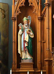 Saint Joseph Roman Catholic Church, in Chenoa, Illinois, USA - Saint Patrick.jpg
