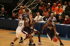 Washington Huskies vs. Texas A&M Aggies (Kevin Coles) Tags: nyc ny newyork basketball university huskies ncaa msg madisonsquaregarden nit texasam 2007 aggies semifinals washingtonhuskies