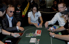 APPT Macau 2007 High Roller Event: Lee Nelson, Liz Lieu and Bo Sehlstedt