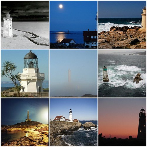 Mosaic friday: lighthouses