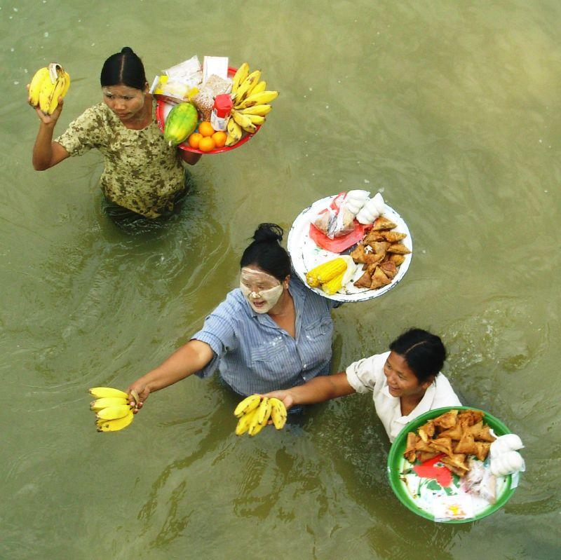 Sur l'eau-Vers Bagan (5)