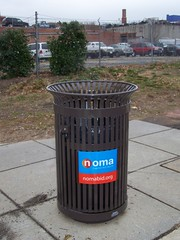 NoMA BID Trash can