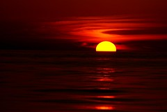 rage against the dying of the light (unfocused mike) Tags: ocean sunset red orange sun painterly gulfofmexico water night bravo florida dylanthomas marcoisland magicdonkey mywinners flickrslegend
