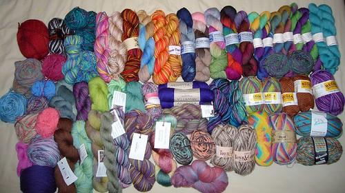 sock yarn 034