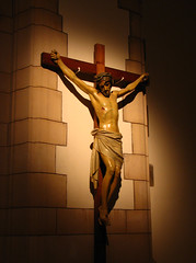 Dying He destroyed our death... (Lawrence OP) Tags: love church catholic christ cross cathedral jesus leeds lord cruz passion crucifix kyrie suffering salvation crucifixion stannes crux saviour
