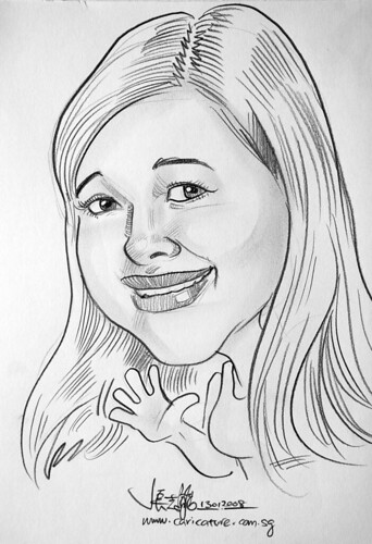 Caricature pencil Norway 13
