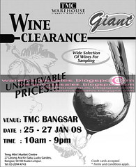 24 jan tmc warehouse wine clearance malaysia 2008