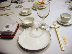 Place Setting (OpalMirror) Tags: china garden restaurant place beijing jade setting