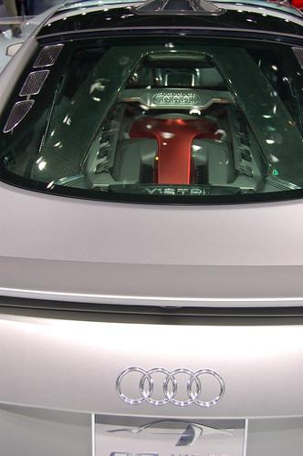 2008 Audi R8 V12 Tdi Concept. Audi R8 V12 TDI Concept North
