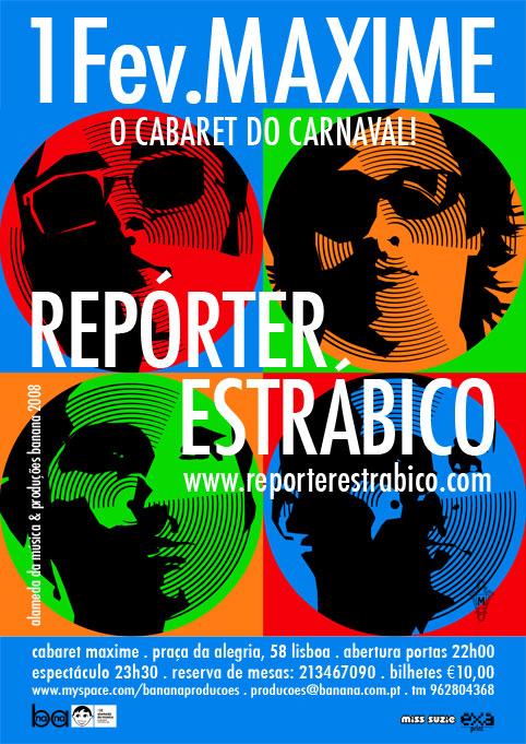 Repórter Estrábico - Eurovisão
