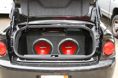 Interior How To Install Subs And Amps With Original H U